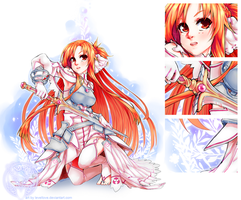 Goddess of the Blade | SAO by levellove