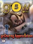 grOw/cOmic#5, issue 5 cover by BustArtist