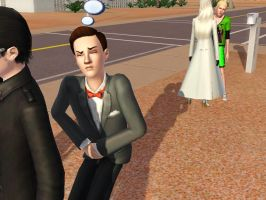 Sims: HAL....just go to the bathroom by bloodwolf8