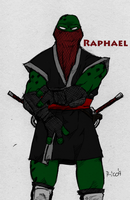 TMNT Raphael Colored by YintoYang