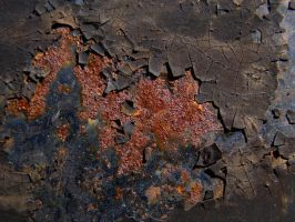 Rust texture 005 by AnnFrost-stock