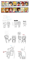 Total drama mini story sketch xD by PauNyanOrange