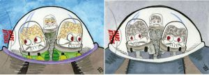 Mars Attacks Invasion - On the Way by 10th-letter