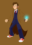 Doctor 10th by roemesquita