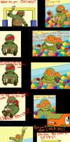 The Big Turtle Theory: Booyakasha In The Ball Pit by CrimzyWhimz