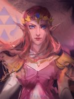 Zelda skech by rossdraws