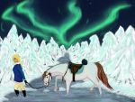 SWE - Opal and Frayer, Endurance race by Palominobrumbyfilly