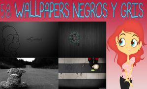Walls Color Negros by FLOPPYTUTOS14