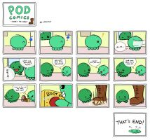 POD Comic - There's the Door by OniChild