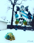 Toa Kopaka: Uniter of Ice by Vladeandstuff247