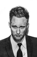 Alexander Skarsgard by lauraeddy
