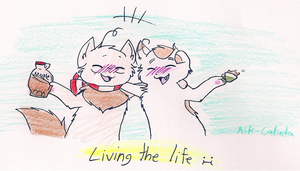AT: Living the Life :I by Ask-Catada