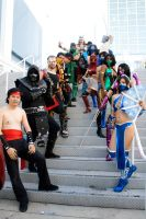Mortal Kombat Gathering by Barbie-H
