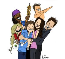 iCarly Tribute Colored by mau009