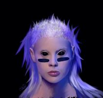 Yolandi Visser by mushroomp