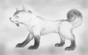 Art Trade: agelenawolf by Rhymeable