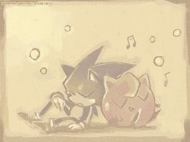 Sonic and Purin by sorata-s