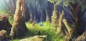 Zelda Wii U: Forest Temple by EternaLegend