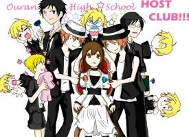 Ouran High School Host Club by MeCs93
