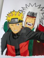 Naruto and Jiraiya II by ViivaVanity