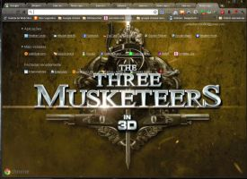 The Three Musketeers by SPCM2011