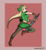 Lady Link by TheMightFenek