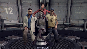Left 4 Dead - Nick , Ellis , Zoey and Witch by JhonyHebert