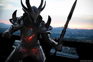 Skyrim Daedric Armour by Ken-Eden