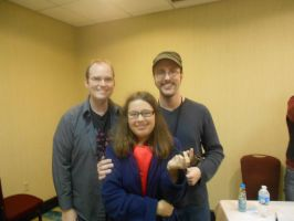 Rob and Doug Walker and me @ Shadocon 2012 by pretty-pomeranian