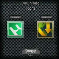 2 Download Icons by Schulerr
