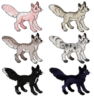 Dog Designs {#1} :CLOSED: OTA by CharcoalMoose