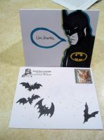 9 17 2013 Batman Thank You Note by MyThoughtsAreDeep