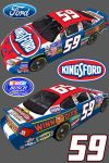 2004 Fictional Busch Series Kingsford Ford by Lowes4804