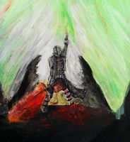 The Inquisitor (acrylics) update by dragonhunter2323