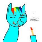 Dash and Makeup Don't Mix. by Yamathan