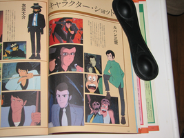 Lupin the 3rd_Cagliostro MOOK by FilmmakerJ