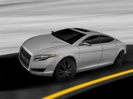 Audi A6 by Ghost21501