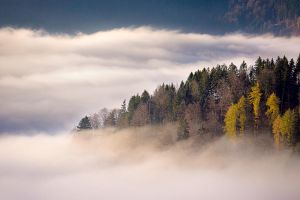 Above the clouds by Addran