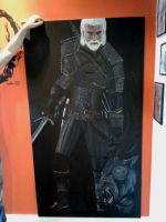 Geralt Of Rivia by flaviudraghis