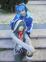Ene and Kido by Nisitime