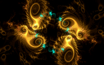 golden swirls by Andrea1981G