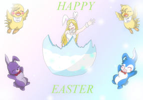 Happy Easter 2015 by HeroHeart001