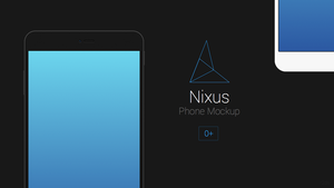 Nixus Phone Mockup by r2ds