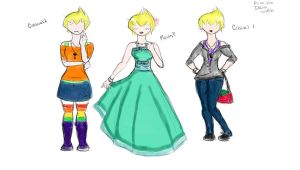 SBT: Ilana Outfits by KingdomHeartsgal