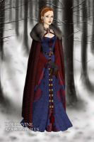 Catelyn of House Tully v3 by DaenatheDefiant