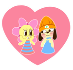 Sunny and Parappa by Arche-JoIyO