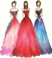 Formal Gowns II by Jaeiyemm014