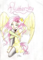 Fluttershy by vocaLily123