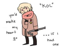 Hetalia Valentines - Russia by Nailel