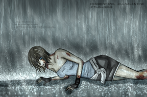 re3: stand in the rain by FiammahGrace